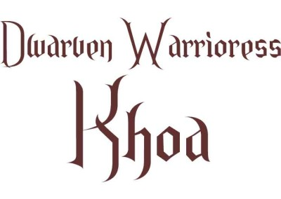 Protected: Dwarven Warrioress Khoa